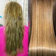 Кератиновое выпрямление волос. Ботокс