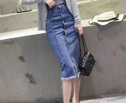 Юбки джинсовые. 40, 42, 44, 46, 48