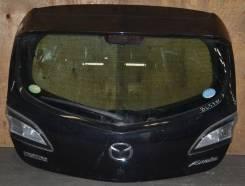 Спойлер на заднее стекло. Mazda Axela, BL5FW