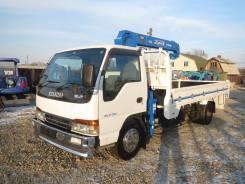 Isuzu Elf. Продам бортовой грузовик с манипулятором Isuzi ELF, 4 600куб. см., 3 500кг.
