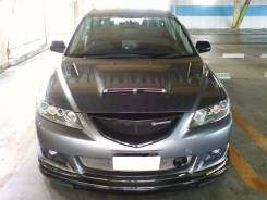 Капот. Mazda Atenza, GG3S, GYEW, GY3W, GG3P, GGES, GGEP Двигатели: L3VE, LFDE, L3VDT, LFVE