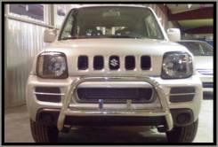Защита бампера. Suzuki Jimny. Под заказ