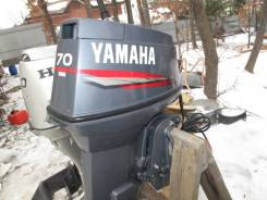 Yamaha. 70,00л.с., 2-тактный, бензиновый, нога X (635 мм), Год: 2004 год