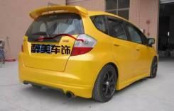 Обвес кузова аэродинамический. Honda Fit, GE7, GK4, GK5, GP1, GP6, GE6, GK6, GE9, GE8, GK3, GP5 Двигатели: L13A, L13B, L15B, LDA, LEB, L15A. Под заказ