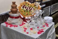 Шоколадный фонтан и фруктовые композиции! Удивите своих гостей!