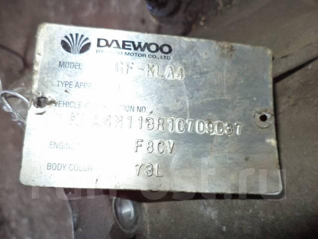 АКПП. Daewoo Matiz Двигатель F8CV
