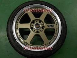 RAYS VOLK RACING GT-P. 7.0x17, 5x114.30, ET44, ЦО 70,0мм. Под заказ
