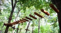 Верёвочный парк в Приморском крае