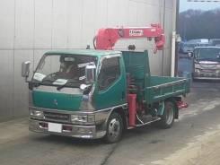 Isuzu Elf. Самосвал с Краном ! Mitsubishi Canter, 4 600куб. см., 3 000кг., 4x2. Под заказ