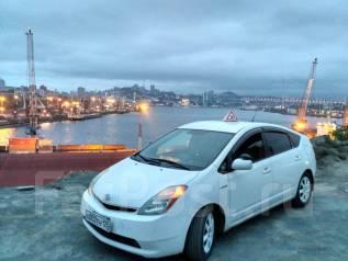 Обучение вождению. Левый руль -Toyota Prius
