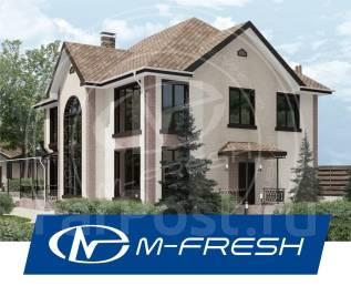 M-fresh Cad!llac Plus! -зеркальный (Отдельная гардеробная, камин). 200-300 кв. м., 2 этажа, 5 комнат, бетон