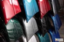Бампер задний Priora ВАЗ 2170 цвет Калифорнийский мак