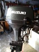 Suzuki. 15,00л.с., 2-тактный, бензиновый, нога S (381 мм), Год: 2012 год