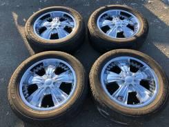 Яркий Хром 6*139.7 285/50/20 Prado, FjCruiser, Tacoma, Lexus GX460-470!. 8.5x20 6x139.70 ET15 ЦО 108,0мм.