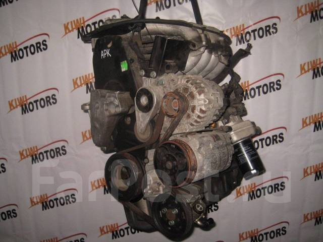 Двигатель в сборе. Volkswagen Bora Volkswagen Golf Skoda Octavia, 1Z, 1Z3, 1Z5, 5E, 5E5 Двигатели: AEG, APK, AQY, AZG, AZH, AQYAPKAZHAEGAZJ, 1Z