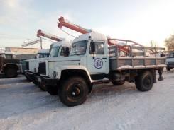 ГАЗ 3308 Садко. Газ 3308, бкм-317, Ямобур. 2007 г. в, 4 600 куб. см., 1 250 кг.