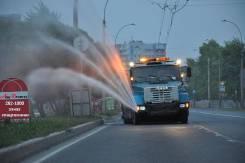 Аренда водовоза доставка технической воды горячей воды