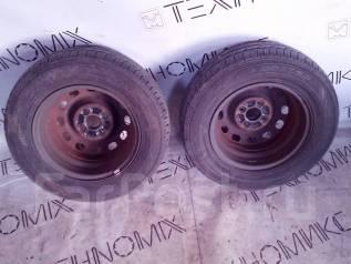 Продам пару колёс 175/70 R13 (№47-26). x13 ЦО 52,0мм.
