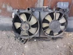 Радиатор охлаждения двигателя. Toyota Caldina, ET196, ET196V Двигатель 5EFE