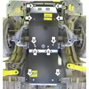 Защита двигателя пластиковая. Toyota Fortuner Toyota Hilux