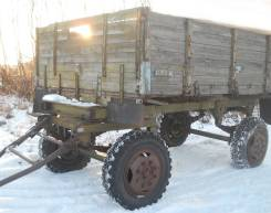 ИАПЗ-754-В. Прицеп Иазп-754 для ЗИЛ-130 МТЗ-80, 4 000 кг.