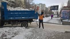 Уборка и вывоз снега 300р/м3
