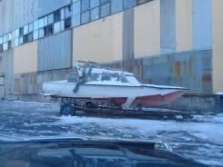 Волга. 1973 год год, длина 8,50м., двигатель стационарный, 105,00л.с., дизель