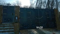 Металлические ворота, распашные, откатные