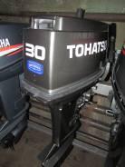 Tohatsu. 30,00л.с., 2-тактный, бензиновый, нога S (381 мм), Год: 2001 год
