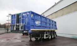 MEGA. Новый самосвальный полуприцеп Mega 35 m3, 41 000 кг.