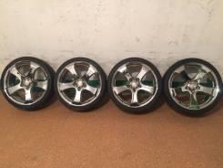 Продам комплект колес Venerdi CL105 на 19 с летней резиной. 8.0x19 5x114.30 ET45 ЦО 73,0мм.
