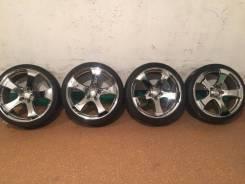 Продам комплект колес Venerdi CL105 на 20 с летней резиной. 9.5x20 5x114.30 ET38 ЦО 73,0мм.