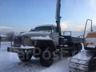 Урал. Продается Бортовой с КМУ (Инман 95) на е 584912, 11 150 куб. см., 11 630 кг.