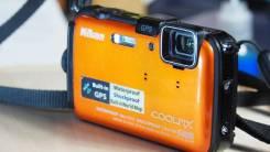Nikon Coolpix AW100. 8 - 8.9 Мп, зум: 5х