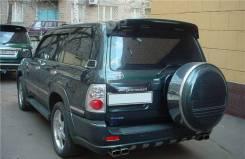 Колпаки запасного колеса. Toyota Land Cruiser, FZJ100, HDJ100, J100, UZJ100, HDJ100L, UZJ100W, UZJ100L Toyota Land Cruiser Prado, KZJ120, TRJ120W, GRJ...