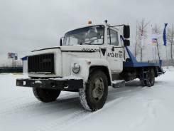 ГАЗ 3309. Эвакуатор ГАЗ-3309, 4 750 куб. см., 3 450 кг.