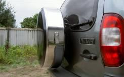 Колпаки запасного колеса. Chevrolet Niva, FAM1 Двигатели: BAZ2123, Z18XE