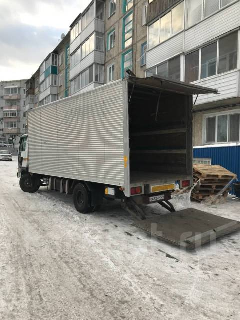Hino Ranger. грузовик 5т, 7 000 куб. см., 5 000 кг.