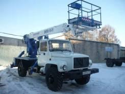 Випо-18. Автогидроподъемник ВИПО-18-01 (высота подъема 22 метра) на шасси, 5 200 куб. см., 22 м.