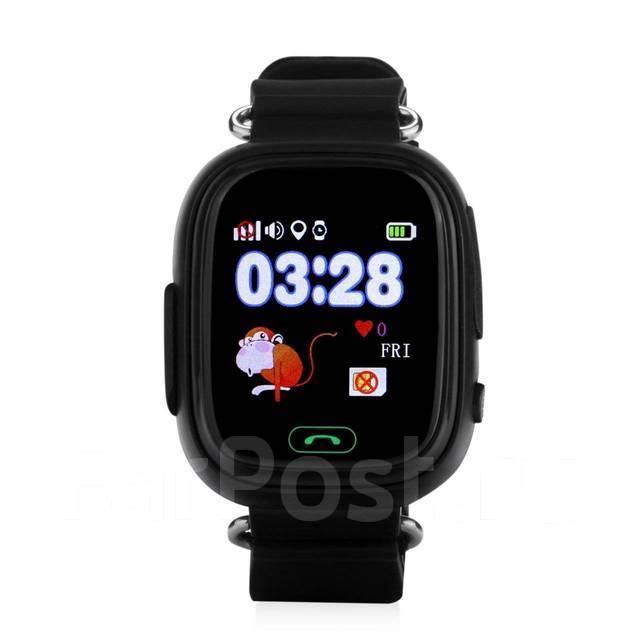946dbed899b1 Детские умные часы-телефон GW100 (Q80, Q90) GPS Smart Baby Watch во  Владивостоке