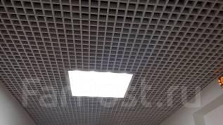 Монтаж подвесного потолка. Ламинат. Плитка