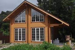Строительство из сухого профилированного бруса деревянных домов, бань.