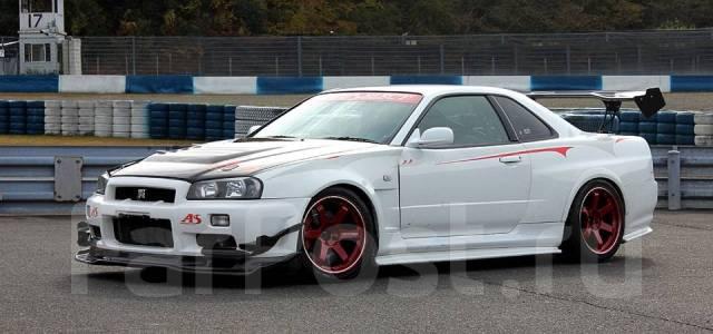 Бампер с диффузором Autoselect для R34 GT-R. Nissan Skyline, BNR34 Nissan GT-R