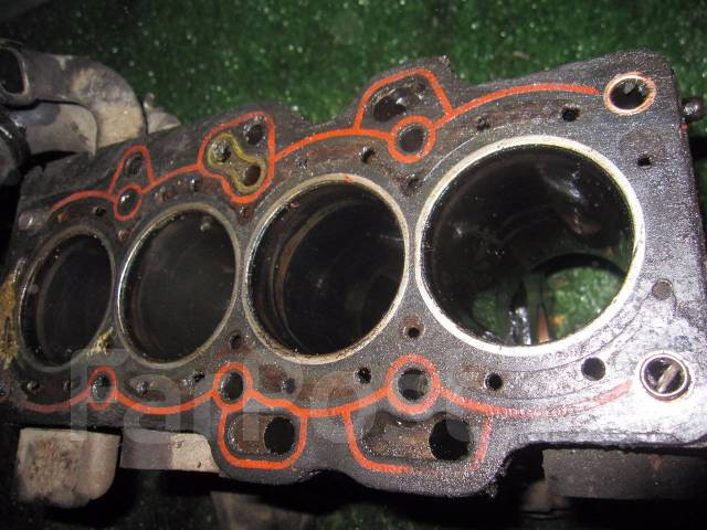 Блок цилиндров. Subaru R2, RC1, RC2 Subaru R1, RJ2, RJ1 Subaru Stella, RN1, RN2 Двигатели: EN07D, EN07X, EN07E