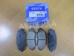 Тормозные колодки дисковые D2274 KASHIYAMA Япония (26335)