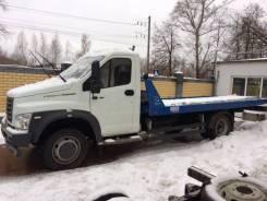 ГАЗ ГАЗон Next. Эвакуатор со сдвижной платформой Газон Некст. В наличии, 4 400куб. см., 4 000кг., 4x2