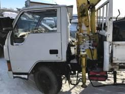 Mitsubishi Canter. Продается грузовик с манипулятором Mitsubishi canter, 3 600 куб. см., 2 000 кг.