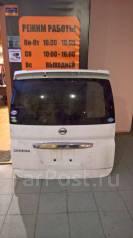 Крышка багажника. Nissan Serena, C25, CC25, CNC25, NC25 Двигатель MR20DE