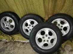 Колёса Michelin Latitude X-Ice 215/70R16. 6.0x16 5x114.30 ET46 ЦО 67,1 мм.