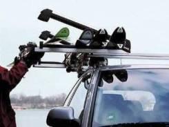 Автомобильные крепления для лыж, сноубордов. Skoda Octavia